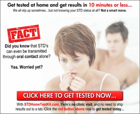 STD Home Test Kit