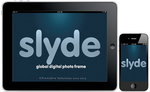 Slyde Photo Frame