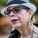 Karen Lewis the president of the Chicago Teachers Union outside Dr. Martin Luther King Jr. College Preparatory High School in Chicago on the first day of the CPS school year, Tuesday, September 6, 2016. | James Foster/For the Sun-Times