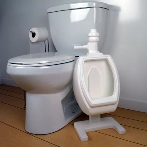 Urnial_next_to_toilet