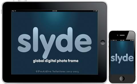 Slyde Photo Frame